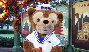 Do you Know the Mascot Duffy Bear from Disneyland?