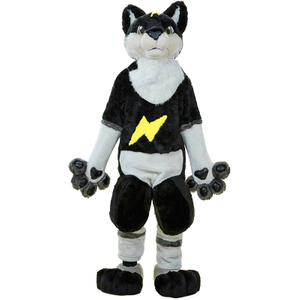 Furry Wolf Fox Suit Mascot Costume